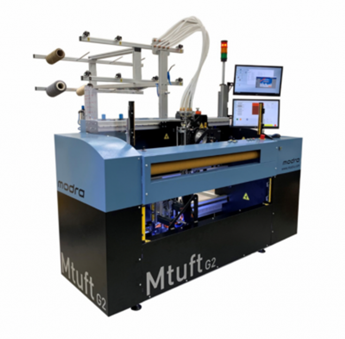 Modra Mtuft G2 carpet sample machine