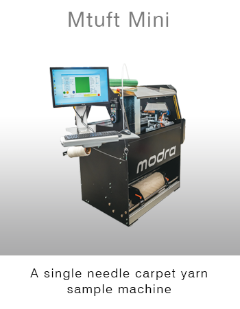 Modra Mtuft Mini Carpet Machine